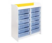 """[Skříňky """"L"""" s 12 košíky - žlutá]"""