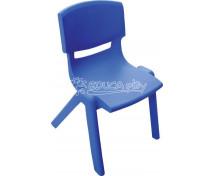 [Plastová židlička - výška 30 cm - modrá]