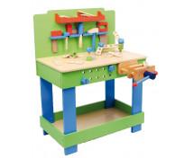 [Dřevěný pracovní stůl]