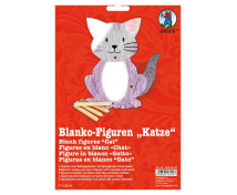 [Papírové figurky - Kočička (17 x 22 cm)]