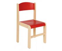 [Dřevěné židle  javor 38 - červená]