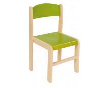 [Dřevěné židle  javor 38 - zelená]