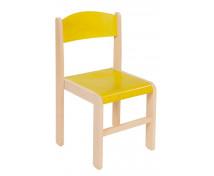 [Dřevěné židle  javor 38 - žlutá]