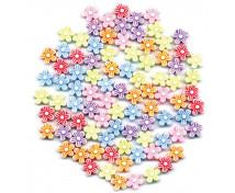 [Plastové korálky - květinky]