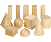 [Dřevěné geometrické tvary]