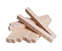 [Dřevěné kostky matematické, 10 cm3]