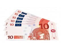 [Euro bankovky - 10 euro - 100 ks]