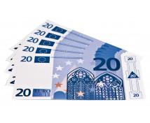 [Euro bankovky - 20 euro - 100 ks]