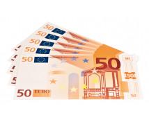 [Euro bankovky - 50 euro - 100 ks]