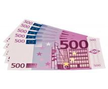 [Euro bankovky - 500 euro - 100 ks]