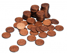 [Euro mince - 1 cent - 100 ks]