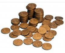 [Euro mince - 10 cent - 100 ks]