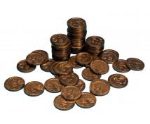 [Euro mince - 50 cent - 100 ks]