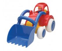 [Jumbo Traktor s lžící]