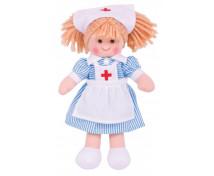 [Lalka szmacianka - Pielęgniarka Nana (wysokość: 28 cm)]