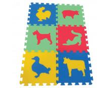 [Piankowy dywan Maxi ze zwierzątkami 3 - w 4 kolorach]