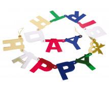 "[Girlanda ""Happy Birthday"" - 1,5 m]"