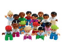[LEGO Duplo - Figurki narody]
