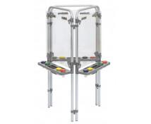 [Akrylowy stojak do malowania - trójstronny (129 x 67 x 58 cm)]