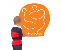 [Labirynt dekoracyjny - Hipopotam]