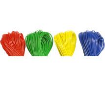 [Zestaw 8 plastikowych sznurków]