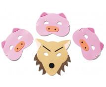 [Maski - Trzy świnki]
