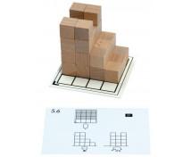 [Karty aktywności dla Drewnianych Klocków wielofunkcyjnych - Zestaw 5]