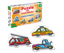 [Puzzle dla maluszków - Samochodziki]