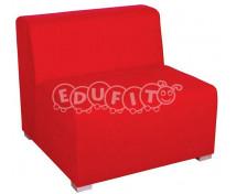 [Fotel 1-osobowy - czerwony]