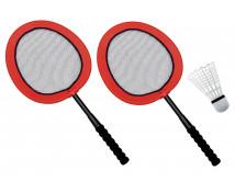 [Bezpieczny badminton - maxi zestaw]