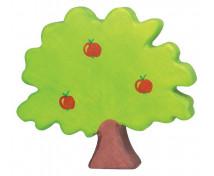 [Drewniane domki - Jabłoń (19 x 2,3 x 17 cm)]