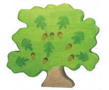 [Drewniane domki - Dąb (24 x 2,8 x 29 cm)]