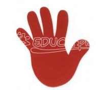 [Značky Rúčky červené - 4ks]