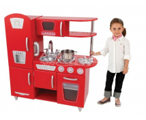 [Červená retro kuchyňa - bez príslušenstva !]