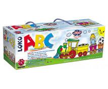 [Puzzle-Vláčik ABC-Naučme sa anglicky]
