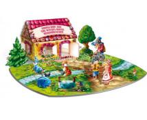[3D puzzle - Janko a Marienka]