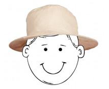 [Prírodný bezfarebný klobúčik]