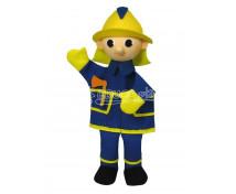 [Maňuška s nohami - Požiarnik Anton]