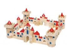 [Stavebné kocky drevený hrad 1]