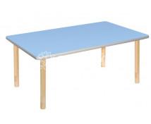 [Pastelový stôl - obdĺžnik modrý]