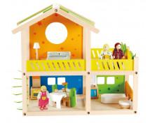 [Poschodový dom pre bábiky]