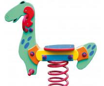 [Hojdačky na pružine z preglejky - Dino II]