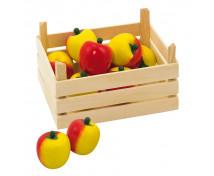 [Bednička s jablkami]