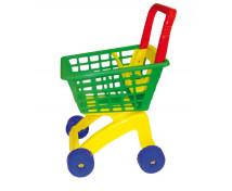 [Plastový nákupný vozík]
