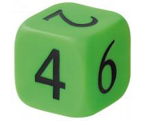 [Plastová kocka - čísla]