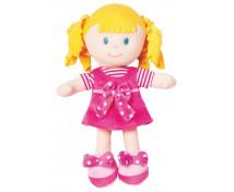 [Mäkká bábika - dievčatko - výška 20 cm]