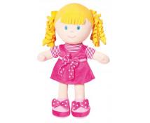 [Mäkká bábika - dievčatko - výška 35 cm]