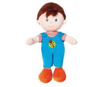 [Mäkká bábika - chlapček - výška 20 cm]