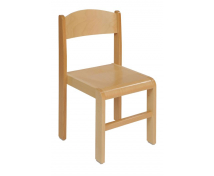 [Drevená stolička BUK 38 cm - natural]
