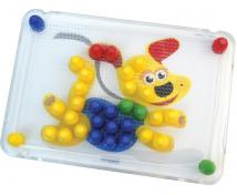 [Mozaika s 20 mm hríbikmi - Zvieratká]